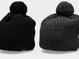 Pánska zimná čiapka s brmbolcom CAM154