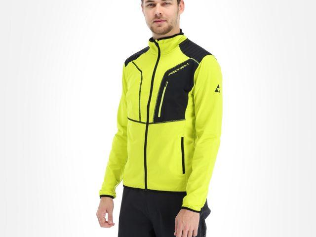 2021/22 AKCIA Fischer: Pánska strečová thermo bunda FISCHER Racing Sellrain Stretch Jacket