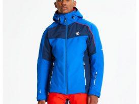 AKCIA Dare2b: Pánska lyžiarska bunda Dare2b Intermit Skijacket Ared Stretch 20.000 oxford blue