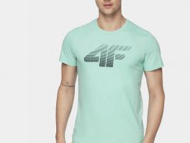 Pánske bavlnené tričko s krátkym rukávom 4F TSM302