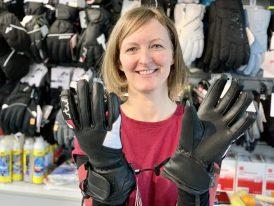 AKCIA 2020/21: Dámske lyžiarske rukavice Stuf Reusch Leder Ski Glove Race