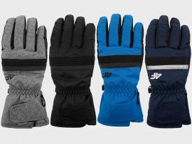 Pánske lyžiarske rukavice 4F NeoDry REM350