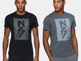 Pánske bavlnené tričko 4F Graphite T-shirt TSM230
