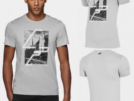 Pánske bavlnené tričko 4F TSM239