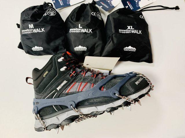 AKCIA 2020/21: Stúpacie železá/reťaze, protišmykové hroty SNOWLINE Mountain Walk