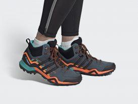 Pánska turistická obuv ADIDAS Terrex SWIFT R2 MID GORE-TEX Hiking 2021