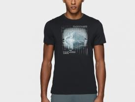Pánske bavlnené tričko 4F TSM227