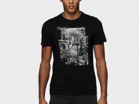 Pánske bavlnené tričko 4F City TSM237