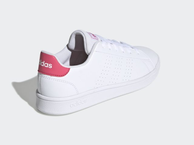 Adidas VS Advantage Clean white-pink dámska / juniorská obuv / tenisky Jar/Leto 2021