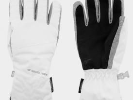 Dámske lyžiarske rukavice 4F NeoDry RED250