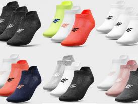 Dámske tréningové ponožky 4F Dry SOD213