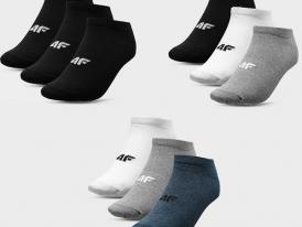 Pánske ponožky 4F 3páry SOM301A