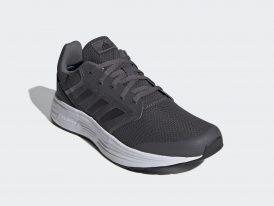 ADIDAS Galaxy 5 Cloudfoam OrthoLite® grey pánska športová obuv Jar/Leto 2021