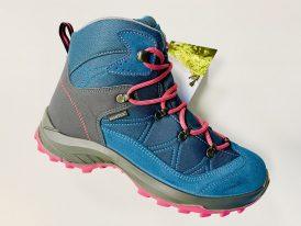 Dámska / dievčenská turistická obuv High Colorado Vilan Mid  HighTex turquoise/berry 2021