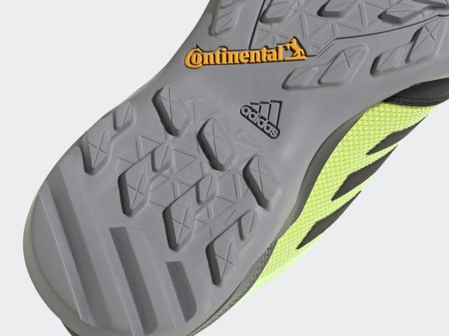 Pánska trekingová obuv ADIDAS Terrex AX3 Continental® Hiking Hi-Res Yellow 2021