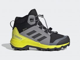 Dámska / juniorská GORE-TEXová turistická obuv Adidas Terrex Mid GTX Continental 2021