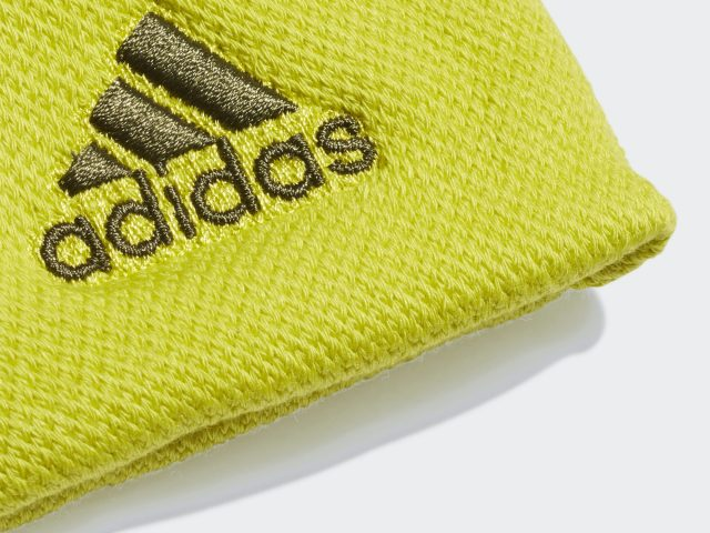 Športové potítka Adidas Tennis Wristband Large Shock Slime / Wild Pine Jar/Leto 2021