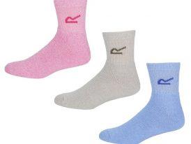 Dámske ponožky Regatta Wmns 3 Socks RWH017