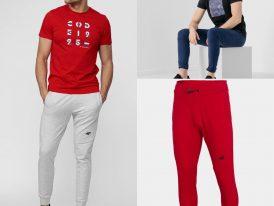 4F nová kolekcia 2021: Pánske športové teplákové nohavice 4F Sportstyle Brand Code