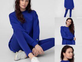 4F nová kolekcia 2021: Dámska mikina 4F Sportstyle Pink Running kobaltová modrá