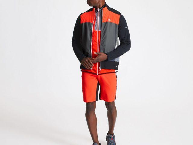 AKCIA 2021 Dare2b: pánska softshellová vesta Dare2b Aptile Trail Vest Summer 2021