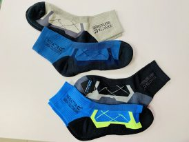 Pánske trekingové ponožky Regatta Outdoor Active CoolMax Socks RMH047