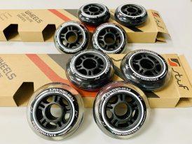 Náhradné kolieska na kolieskové korčule / inline korčule 80 mm, 84 mm