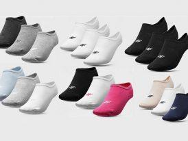Dámske členkové ťapky ponožky 4F Sportstyle SOD301