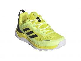 Adidas TERREX Agravic Flow Hi-Res Yellow Primegreen Trail Running 2021 dámska trailová bežecká obuv