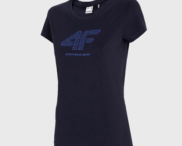 Dámske bavlnené tričko 4F Sportswear Brand TSD011