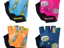 Detské rukavice na bicykel SILVINI Punta