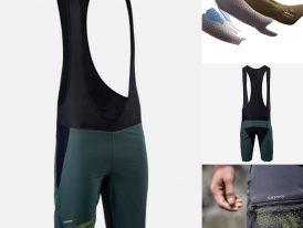 MTB pánske cyklo nohavice s trakmi SILVINI Barrea 2v1 Elastic Interface® charcoal-lime