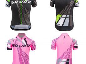 Detský celozapínací cyklistický dres SILVINI Team