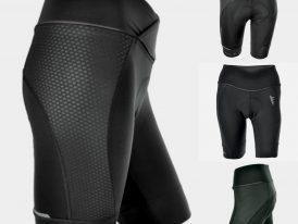 Dámske cyklistické šortky so širokým pásovým okrajom SILVINI Tinella Coolmax
