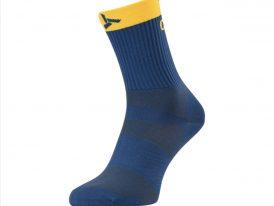 Športové cyklistické ponožky SILVINI Orato navy-yellow