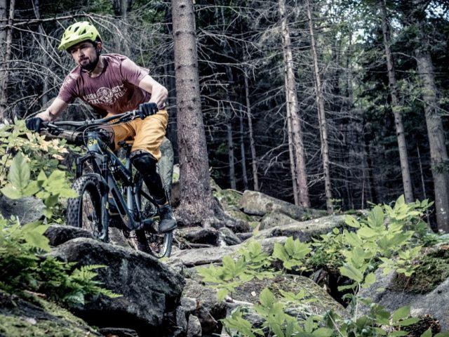 Cyklistické pánske tričko voľného strihu SILVINI Berici Recycled