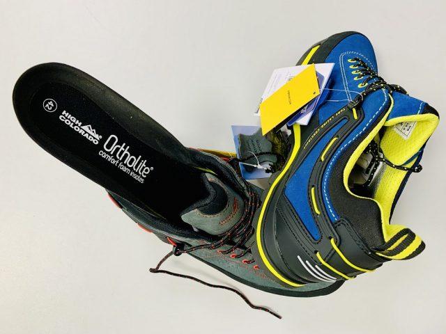 2021/22 AKCIA nová kolekcia: Pánska trekingová obuv High Colorado Piz Low Uni VIBRAM®