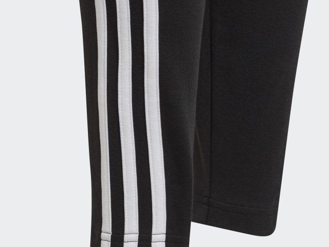 Dámske / dievčenské legíny ADIDAS Essentials 3-Stripes black Summer 2021