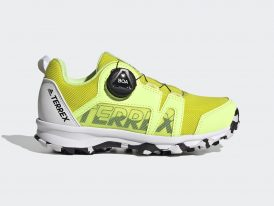 ADIDAS Terrex BOA Hiking TRAXION yellow Summer 2021 dámska outdoorová obuv