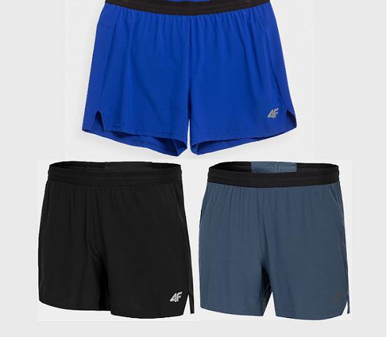 4F nová kolekcia 2021: Pánske funkčné šortky SKMF011