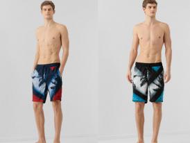 4f nová kolekcia 2021: Pánske plážové šortky SKMT008