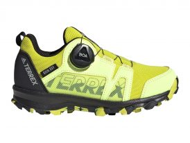 Dámska / juniorská trailová obuv ADIDAS TERREX AGRAVIC BOA RAIN.RDY yellow 2021