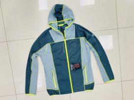 2021/22 AKCIA nová kolekcia: Pánske bundy GTS Adventures Combi Hoodie Jacket grey/lime