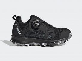 Dámska / juniorská obuv ADIDAS TERREX AGRAVIC BOA TRAIL RUNNING black 2021