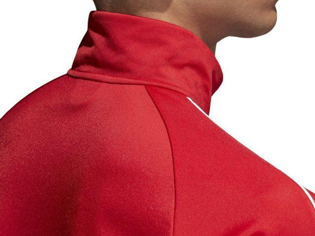 Adidas Badge of Sport CORE 18 pánska športová bunda Power Red Summer 2021
