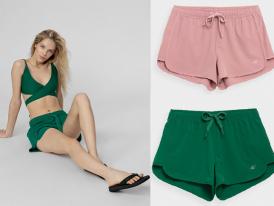 Dámske ľahké šortky 4F Beach Shorts SKDT001