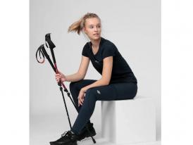 4F nová kolekcia: Dámske funkčné turistické nohavice 4F SPDTR060