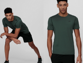 4F AKCIA Výpredaj: funkčné pánske tréningové tričko 4F TSMF013