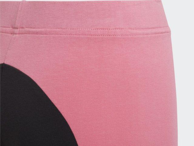 Dámske / dievčenské legíny ADIDAS Essentials Colorblock Leggins rose tone Summer 2021