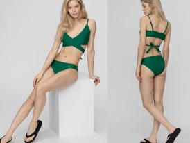 Dámske plavky vrchná časť 4F green top KOS003G